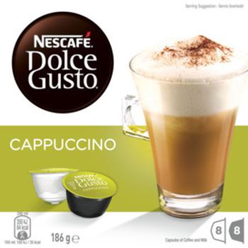 NESCAF Dolce Gusto Cappuccino Coffee