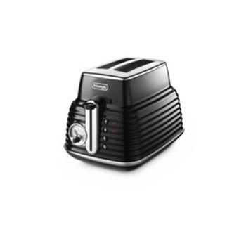 Scultura Black 2 Slice Toaster