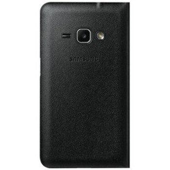 J1 Mini Flip Wallet - Black