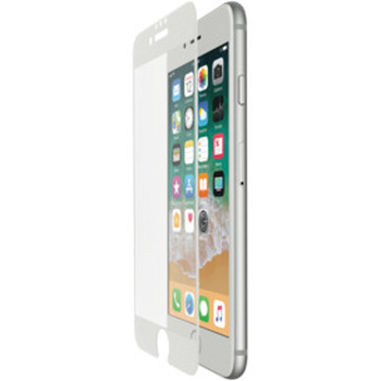 iPhone 8/7/6 Curve Glass Guard White