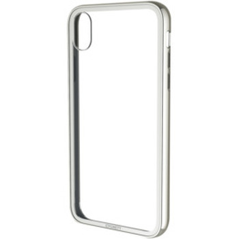 iPhone Xs, X Tempered Glass Case - White