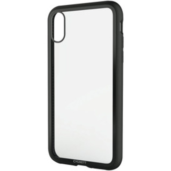 iPhone Xs Max Tempered Glass Case - Black