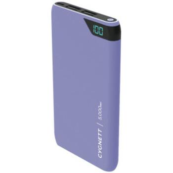 ChargeUp 5,000 mAh Dual USB Powerbank - Lilac