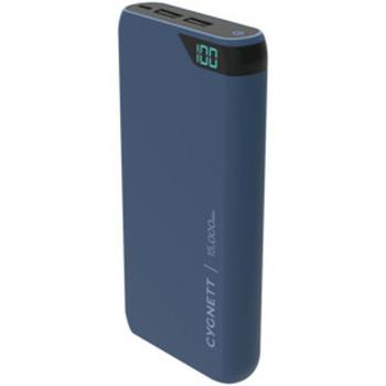 ChargeUp 15,000 mAh Dual USB Powerbank - Navy
