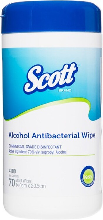 SCOTT® Alcohol Antibacterial Wipes - OfficeMax Catalogue