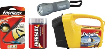 Energizer / Eveready Torches