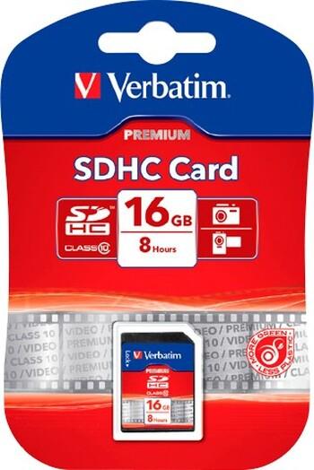 Verbatim SDHC Class 10 Memory Cards