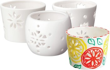 Teter Mek Ceramic Tea Light Holders