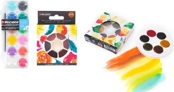 MICADOR for Artists Brilliant Watercolour Discs