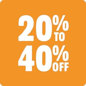 20-40% off All Reels by Shimano, Daiwa, Abu Garcia & Penn