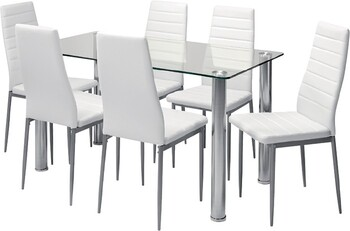 Zoe 7 Piece Dining Set