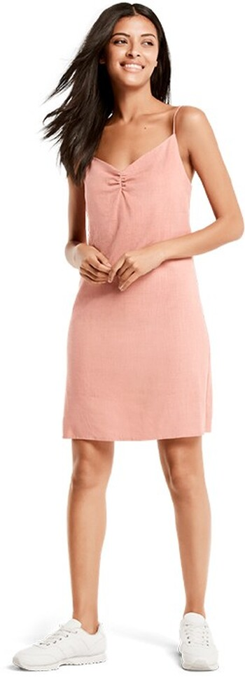 Milk and Honey Ruched Front Dress