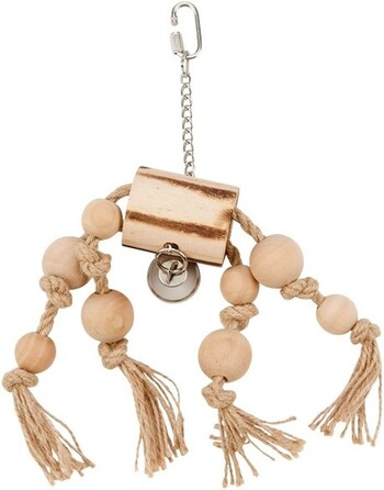 Trunk & Rope with Beads & Bell