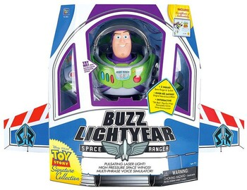 """Toy Story 4 12"""" Blast Off Buzz Lightyear Signature Collector Toy"""