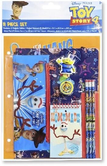 Toy Story 4 11pc Stationery Set