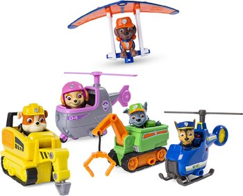 Paw Patrol Assorted Ultimate Rescue Mini Vehicles with Figure