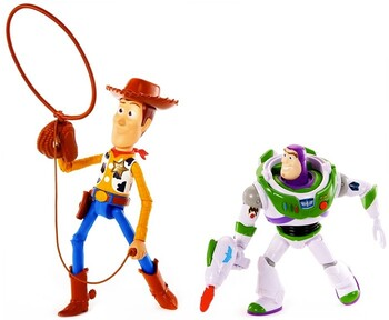 Toy Story 4 Woody & Buzz Lightyear Arcade 2 Pack