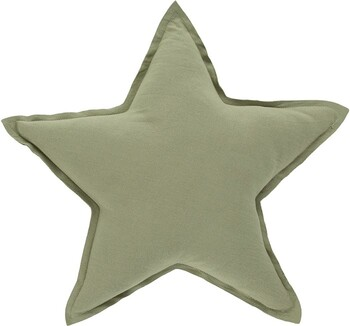 Stella Star Cushion Large in Drizzle