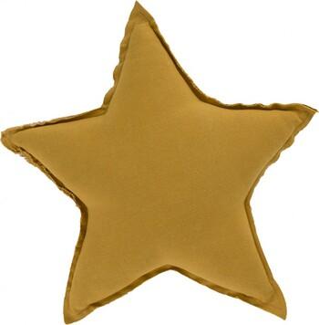 Stella Star Cushion Small in Chai