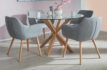 Waverley 5 Piece Dining Set with Nicki Chairs