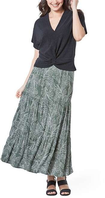 &me Tiered Maxi Skirt