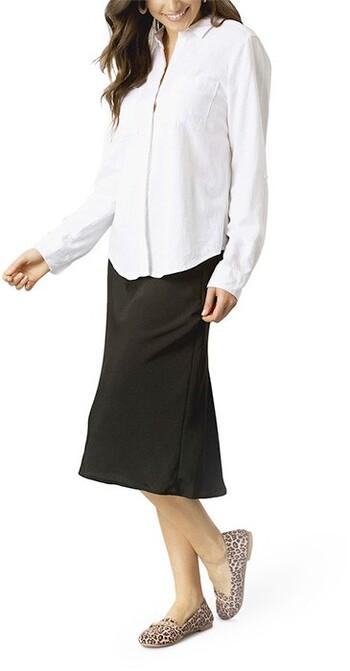 &me Linen Blend Shirt