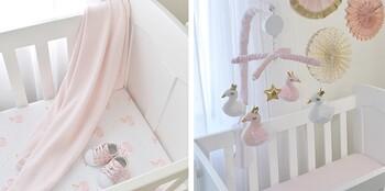 Living Textiles Swan Princess Collection