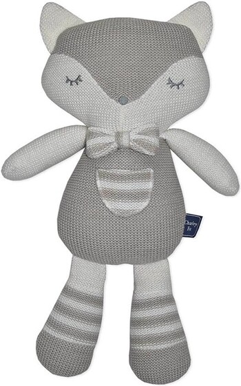 Living Textiles Cotton Knit Softie Toys