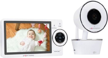 "Project Nursery 5"" HD Dual Connect Wi-Fi Baby Monitoring System"
