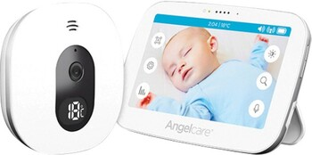 Angelcare® AC510-2 Touchscreen Video & Sound Baby Monitor
