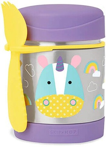 Skip Hop Zoo Stainless Food Jar