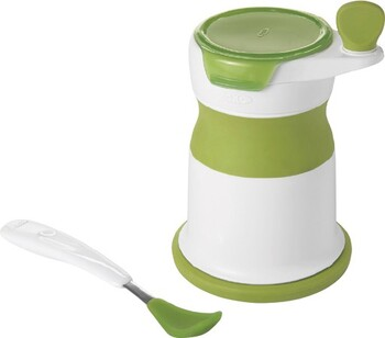 Oxo Tot Baby Food Mill with Silicon Feeding Spoon