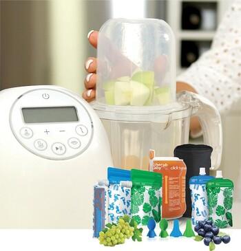 Cherub Baby Fresh Food Feeding System