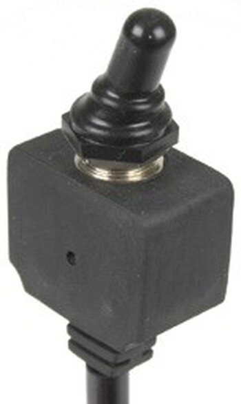 15A SPST Marine Toggle Switch