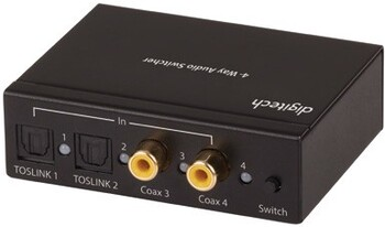 NEW Digital to Analogue Converter with 4-Way Switcher