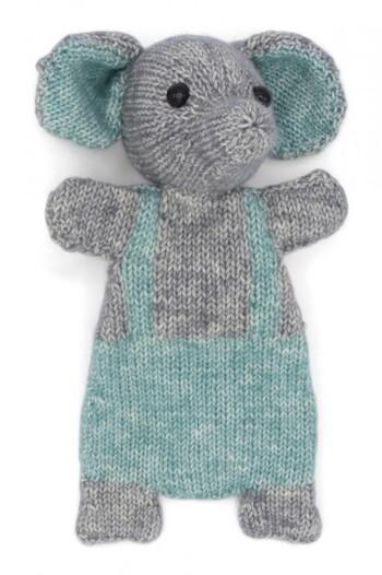 Hardicraft DIY Knitting Animal Snuggle Toy Kit