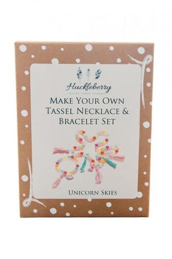 Make Your Own Tassel Necklace and Bracelet