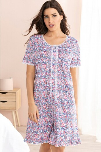 Mia Lucce Button Front Nightie