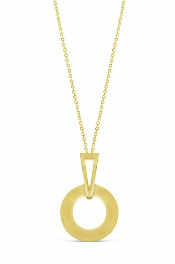 By Fairfax & Roberts Contemporary Geometric Necklace