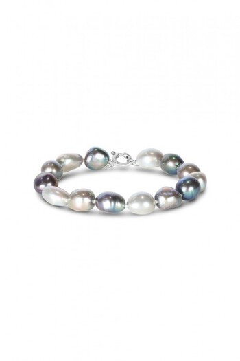 By Fairfax & Roberts Real Pearl Ombre Bracelet