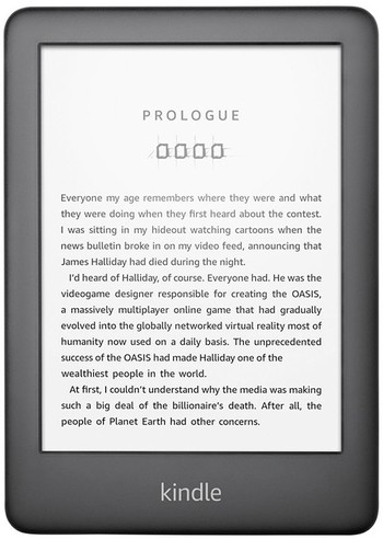 """Kindle 6"""" E-Reader with Built-In Front Light Wi-Fi (4GB)"""