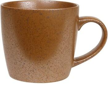 Granite Mug Set (4) 350ml 11.8oz - Rust