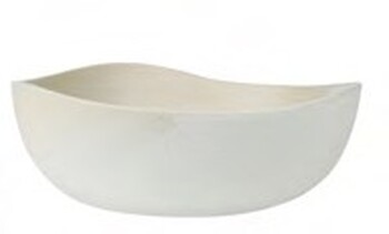 """NEW Table of Plenty Serving Bowl D31cm / H28.5cm D12.2 / H11.2"""" - Stone"""