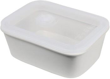 """Feast Container** (Rect) 850ml / L20cm / W14.5cm 25oz / L5.9"""" / W5.9"""" - Cream"""