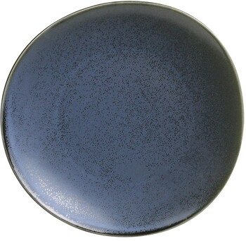 """Mason Entree Plate D23cm / H2cm D9.1"""" / H0.8"""" - Blue Storm"""