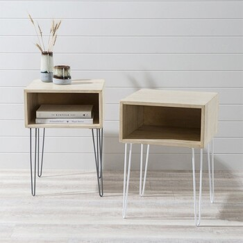 Cubby Bedside Table by M.U.S.E.
