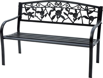 Cornwell 2 Seater Steel Bench
