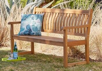 Rosemore 2 Seater Timber Bench