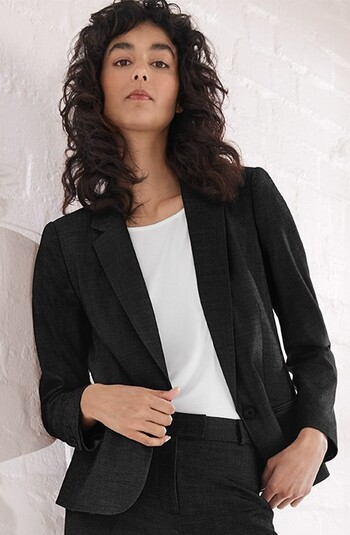 Basque Ava Stretch Suit Jacket