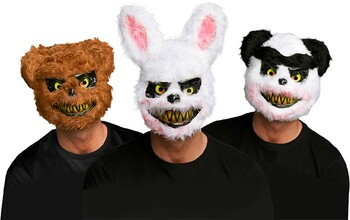 Halloween Bloody Animal Mask - Assorted